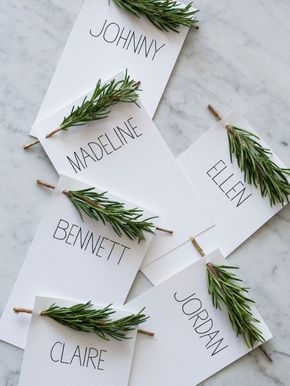 Porte nom table mariage hiver